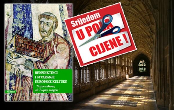 """""""Benediktinci i stvaranje europske kulture"""" 29. kolovoza u pola cijene u Verbumu"""