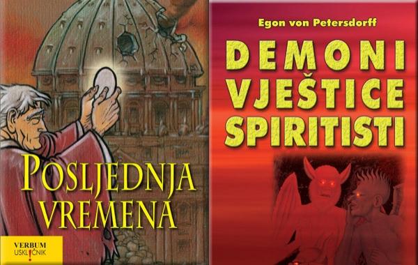"""Na konferenciji za medije Verbum predstavio hit knjige """"Posljednja vremena"""" i """"Demoni,vještice,spiritisti"""""""