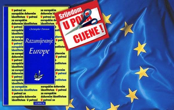 """Knjiga """"Razumijevanje Europe"""" Christophera Dawsona 31. listopada dostupna u pola cijene u Verbumu"""