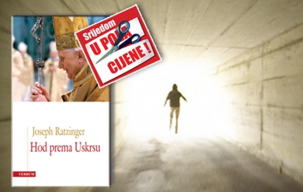 """Knjiga """"Hod prema Uskrsu"""" pape Benedikta XVI. 7. studenoga u pola cijene u Verbumu"""