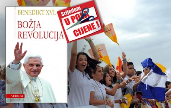 """Knjiga """"Božja revolucija"""" pape Benedikta XVI. 14. studenoga u pola cijene u Verbumu"""