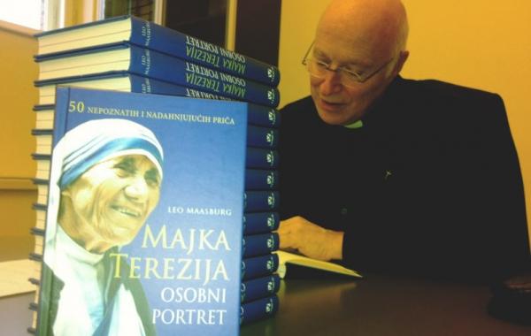 """Autor knjige """"Majka Terezija – Osobni portret"""" o. Leo Maasburg  predstavio knjigu na konferenciji za medije u Zagrebu"""