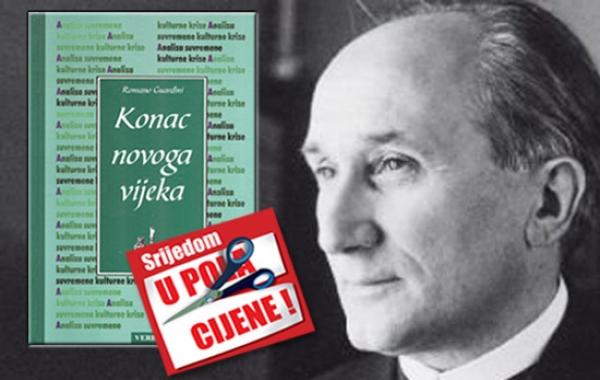 """Knjiga """"Konac novoga vijeka"""" Romana Guardinija 21. studenoga u pola cijene u Verbumu"""