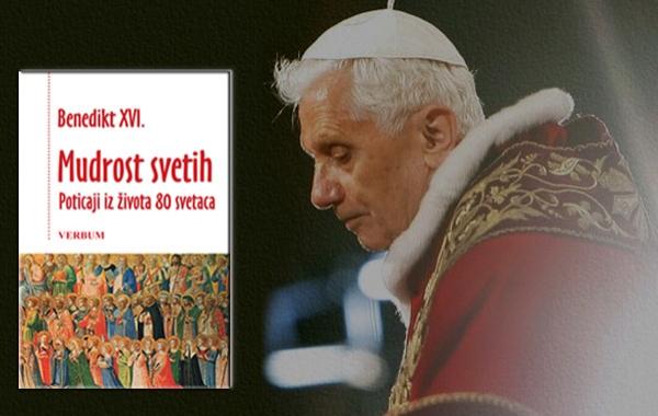 """Predstavljena knjiga """"Mudrost svetih"""" Benedikta XVI."""