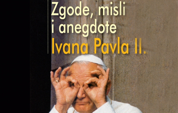 """Na konferenciji za medije predstavljena knjiga """"Zgode,misli i anegdote Ivana Pavla II."""""""