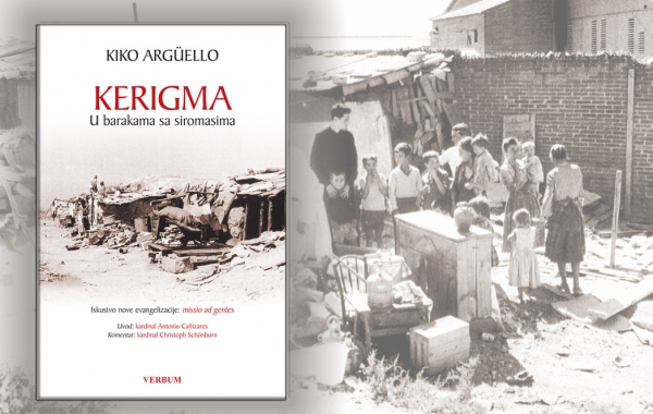 "Objavljena knjiga Kika Argüella ""Kerigma. U barakama sa siromasima"""