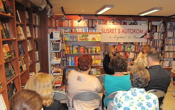 Danijela De Micheli Vitturi gostovala na Verbumovu Susretu s autorom u svibnju