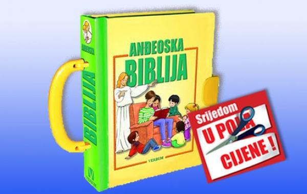 """""""Anđeoska Biblija"""" 25. rujna u pola cijene u Verbumu"""