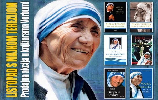 Akcija na knjige Majke Terezije produžena do 15. studenoga!