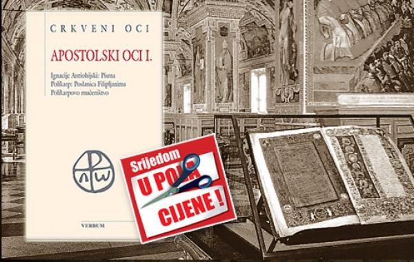 """Knjiga """"Apostolski oci I."""" 16. listopada u pola cijene u Verbumu"""
