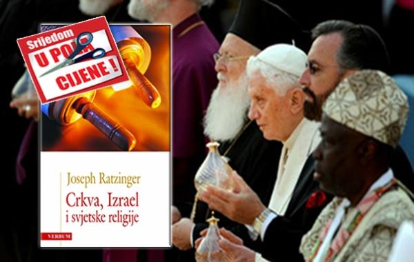 """Knjiga """"Crkva,Izrael i svjetske religije"""" 20. studenoga u pola cijene u Verbumu"""