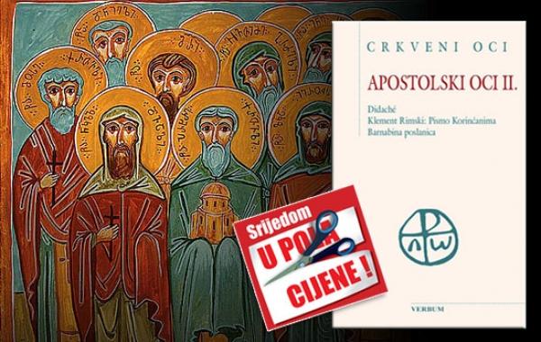 """Knjiga """"Apostolski oci II."""" 9. prosinca u pola cijene u Verbumu"""