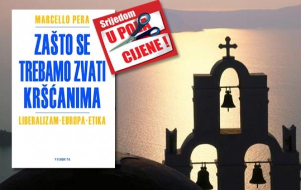 """Knjiga """"Zašto se trebamo zvati kršćanima"""" 18. prosinca u pola cijene u Verbumu"""