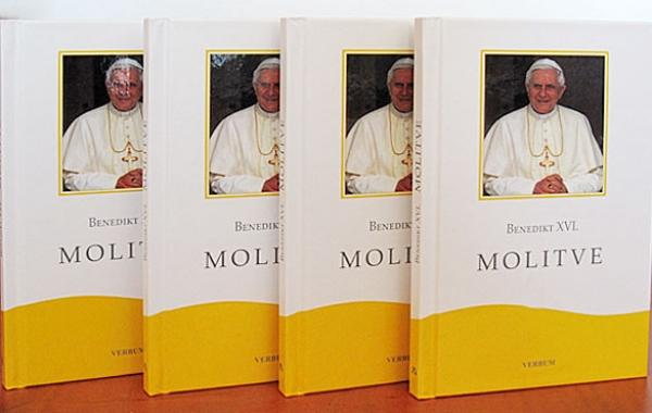"Predstavljena knjiga ""Molitve"" pape Benedikta XVI."