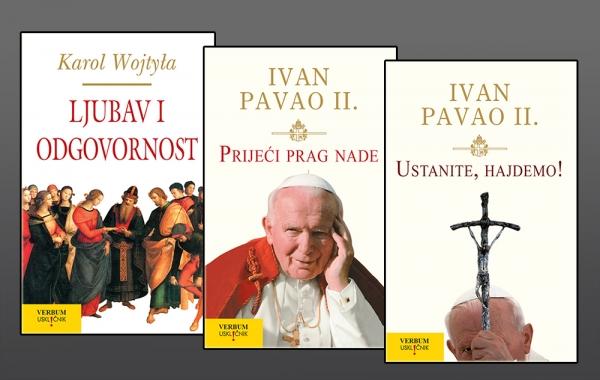 Biblioteka USKL!ČNIK bogatija za tri nova naslova pape Ivana Pavla II.