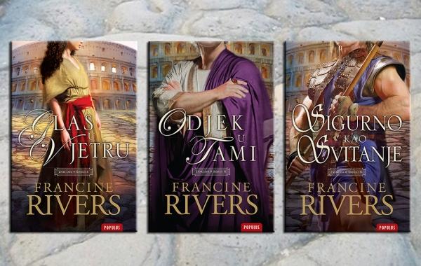 "Objavljena trilogija ""Znak lava"" poznate američke spisateljice Francine Rivers"