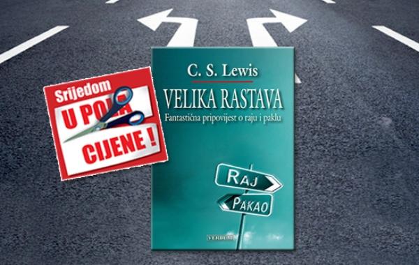 """Knjiga """"Velika rastava"""" 16. srpnja u pola cijene u Verbumu"""