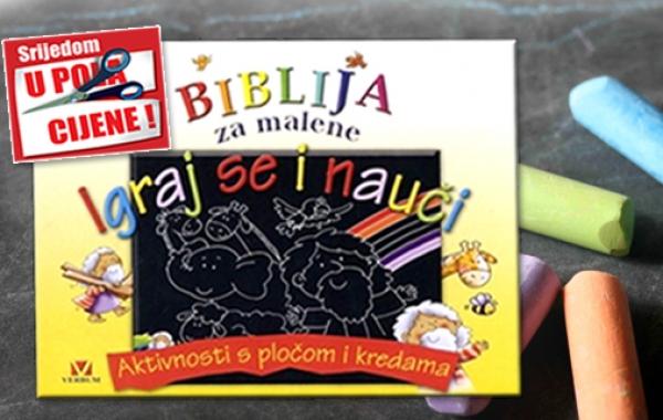 """Knjiga """"Igraj se i nauči"""" 15. listopada u pola cijene u Verbumu"""