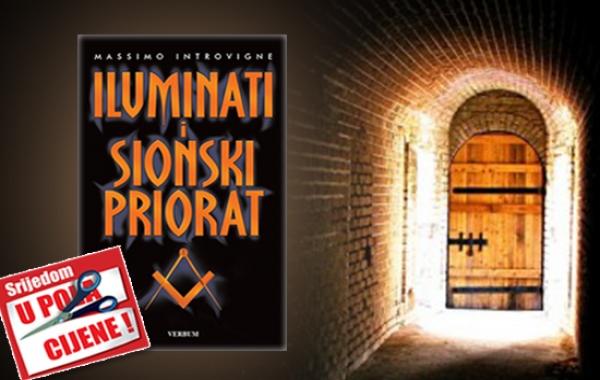 """Knjiga """"Iluminati i Sionski priorat"""" 22. listopada u pola cijene u Verbumu"""