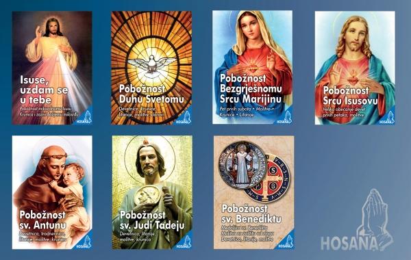 Novi naslovi u nizu HOSANA koji donosi omiljene pobožnosti i molitve!