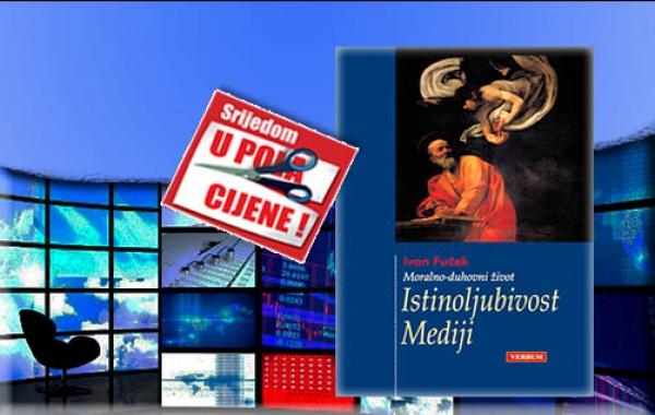 """Knjiga """"Istinoljubivost - Mediji"""" Ivana Fučeka 29. listopada u pola cijene u Verbumu"""