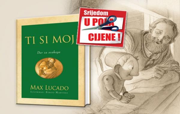 """Knjiga """"Ti si moj"""" 26. studenoga u pola cijene u Verbumu"""