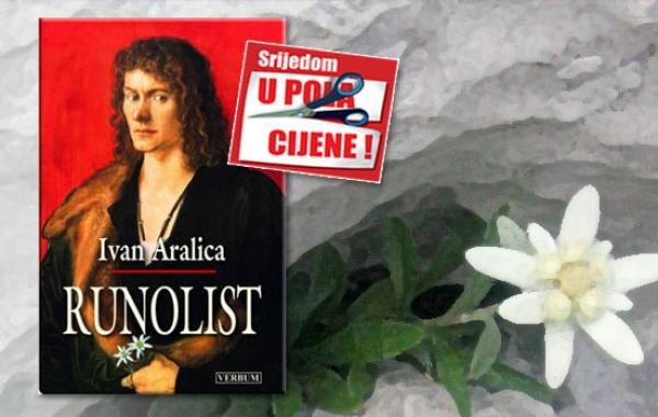 """""""Runolist"""" Ivana Aralice 10. prosinca u pola cijene u Verbumu"""