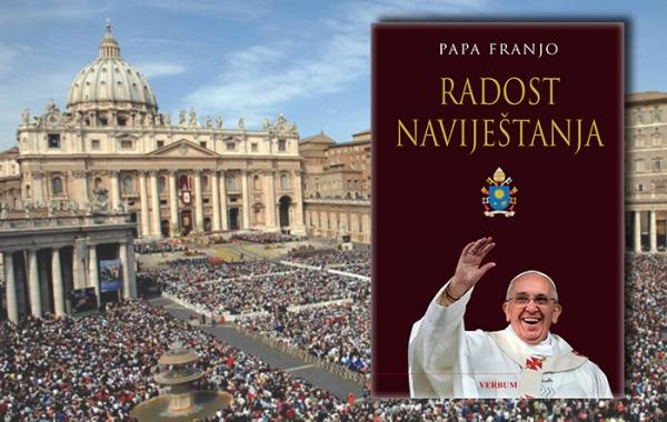"""Predstavljena knjiga pape Franje """"Radost naviještanja"""""""