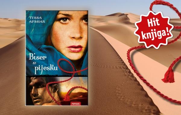 """Novi roman u biblioteci Populus - """"Biser u pijesku"""""""