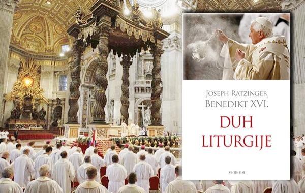 """""""Duh liturgije"""" Josepha Ratzingera - pape Benedikta XVI. u izdanju Verbuma!"""