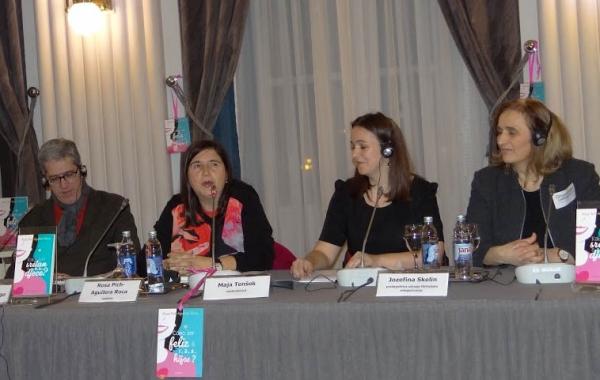 Rosa Pich-Aguilera Roca nastupila na tribini u Zagrebu
