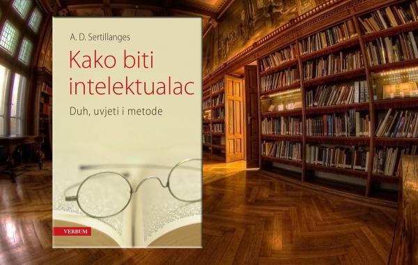 """Predstavljena knjiga """"Kako biti intelektualac"""" A. D. Sertillangesa"""