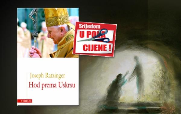 """Knjiga """"Hod prema Uskrsu"""" pape Benedikta XVI. 18. ožujka u pola cijene u Verbumu"""