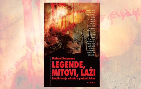 """Predstavljena knjiga """"Legende,mitovi,laži"""" koja razotkriva zablude o povijesti Crkve"""