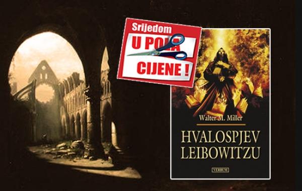 """Kultni roman """"Hvalospjev Leibowitzu"""" 15. srpnja dostupan u pola cijene u Verbumu"""