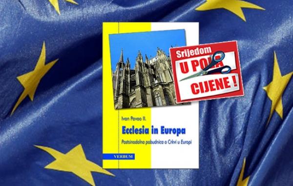 """Knjiga """"Ecclesia in Europa"""" Ivana Pavla II. 30. rujna dostupna u pola cijene u Verbumu"""