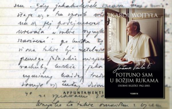 Predstavljene osobne bilješke iz duhovnog dnevnika Ivana Pavla II.