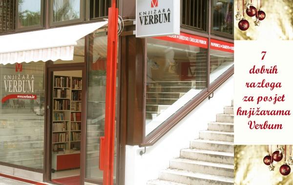 7 dobrih razloga za posjet knjižarama Verbum u predbožićno vrijeme