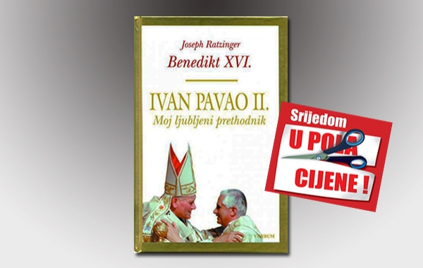 """Knjiga """"Ivan Pavao II. Moj ljubljeni prethodnik"""" 6. srpnja u pola cijene u Verbumu"""
