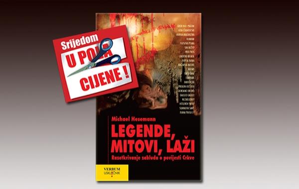 """Knjiga """"Legende,mitovi,laži"""" 13. srpnja u pola cijene u Verbumu"""