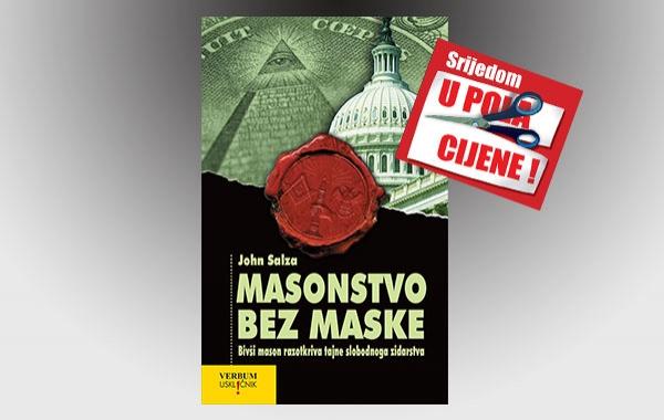 """Knjiga """"Masonstvo bez maske"""" 27. srpnja u pola cijene u Verbumu"""