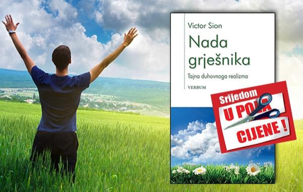"""Knjiga """"Nada grješnika"""" 17. kolovoza u pola cijene u Verbumu"""