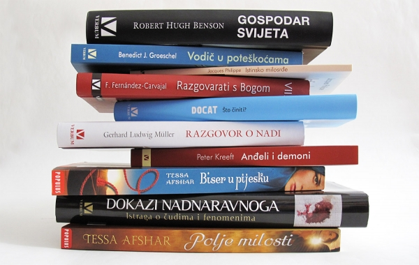 Top ljestvica najtraženijih naslova u Verbumovim knjižarama u prvoj polovini kolovoza
