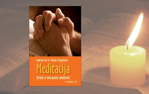 """Predstavljena knjiga  o. Gabrijela od sv. Marije Magdalene """"Meditacija"""""""