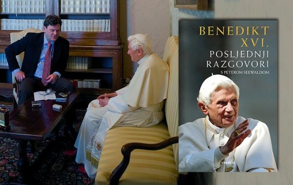 """Knjiga """"Posljednji razgovori"""" Benedikta XVI. od 9. rujna u knjižarama!"""