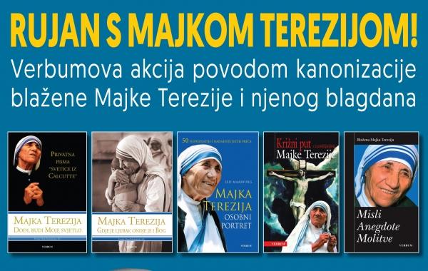 Neka duhovno bogatstvo svetice iz Calcutte uđe u tvoj dom! – akcija povodom kanonizacije Majke Terezije i njezina blagdana