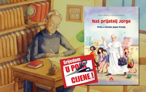 """Knjiga """"Naš prijatelj Jorge"""" 7. rujna u pola cijene u Verbumu"""