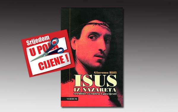 """Knjiga """"Isus iz Nazareta"""" kardinala Biffija 14. rujna u pola cijene u Verbumu"""
