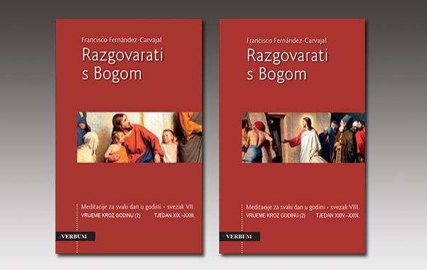 """Predstavljena dva nova sveska Carvajalovih meditacija """"Razgovarati s Bogom"""""""