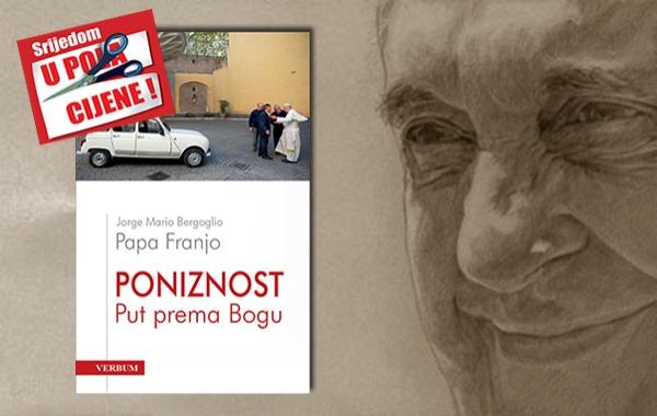"""Knjiga """"Poniznost"""" pape Franje 21. rujna u pola cijene u Verbumu"""